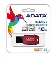 Накопичувач ADATA 16GB USB 2.0 UV100 Red (AUV100-16G-RRD)