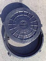 Люк пластиковый (до 2т.)черный
