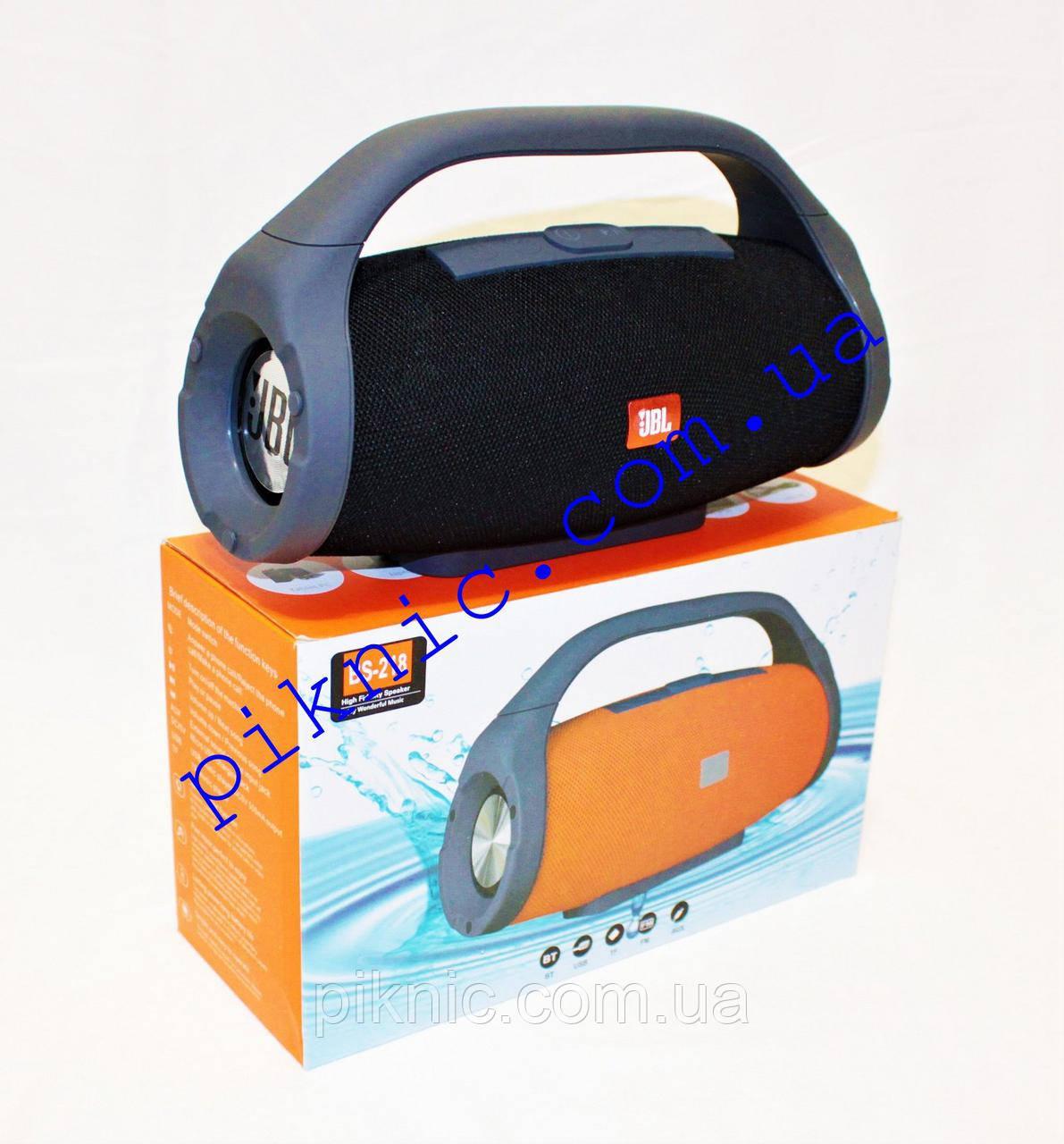 Беспроводная колонка JBL Boombox. Портативная Bluetooth колонка. Черный