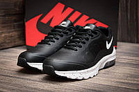 Кроссовки мужские в стиле Nike Air Max, черные (1066-4),  [  41 43 44 45  ]