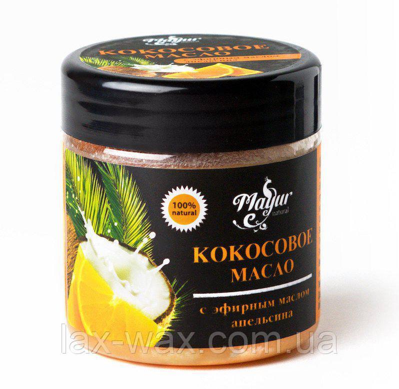 Кокосовое масло с эфирным маслом апельсина ТМ «Мayur», 140мл