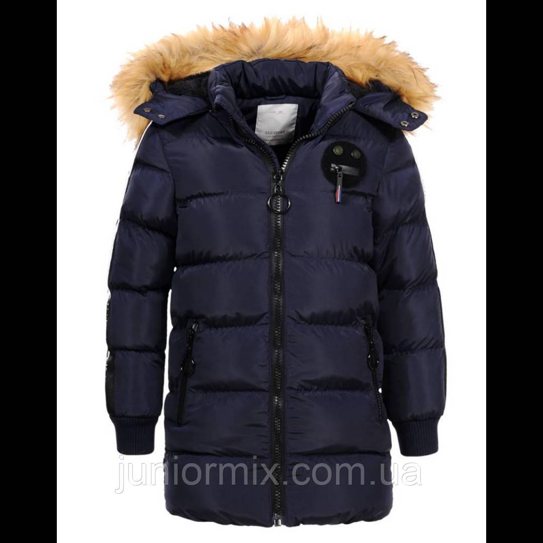 GLO-STORY зимняя детская куртка для мальчиков оптом