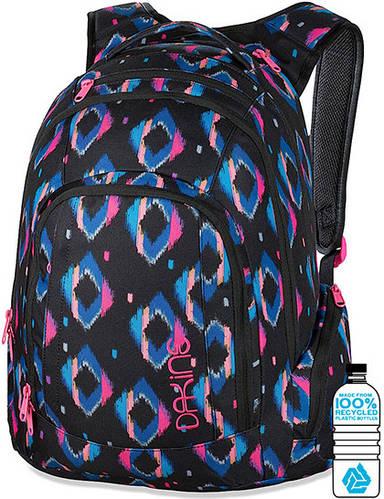 Женский городской рюкзак с принтом Dakine Frankie 26L Kamali 610934828924 черный