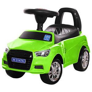 Толокар Audi  (Bambi 3147 А-5) Зеленый, MP3, свет фар