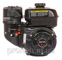Двигун бензиновий WEIMA WM170F-1050 NEW (7.0 л. з, шпонка Ø15мм, L=60mm, редуктор за годинниковою)