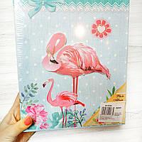 Альбом для фотографий в коробке Фламинго