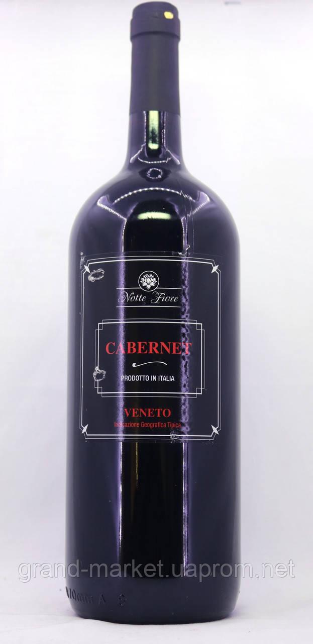 Вино Notte Fiore Cabernet  Veneto 1.5 l