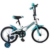 """Велосипед Baby Tilly Flash 16"""" Бирюзовый (T-21646)"""