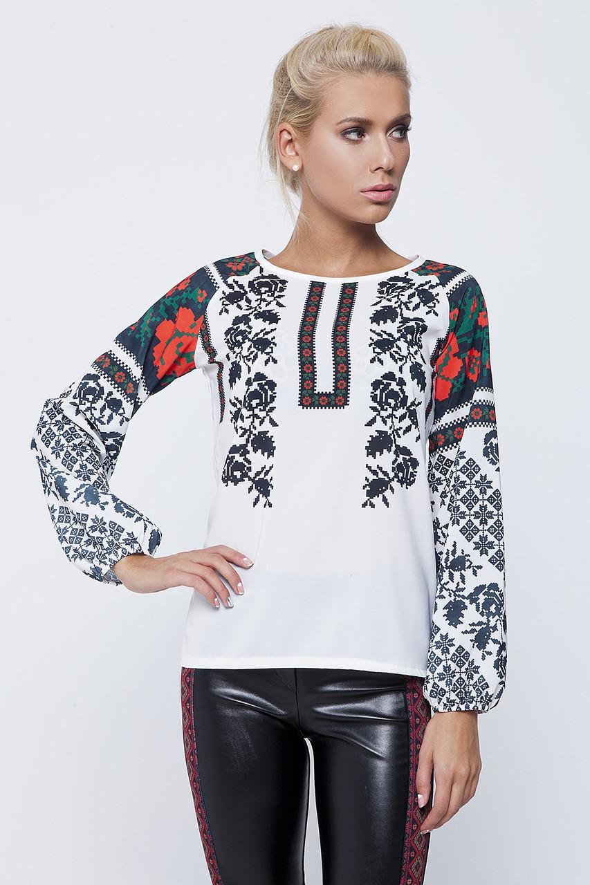 Блуза етнічна Ненька Україна Розмір L a51fe11f5c2a4