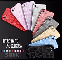 Чехол для Xiaomi Redmi 4x SMX Diamond светло-синий