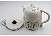 Керамический чайник электронный с одуванчиками Domotec MS-5057 (1.7 л / 1500 Вт)