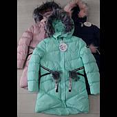 Подростковая зимняя куртка для для девочек оптом GRACE