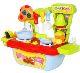 Кухня детская со звуковыми эффектами, подсветка и 18 аксессуаров