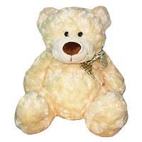 Мягкая игрушка - МЕДВЕДЬ (белый, с бантом, 48 см)
