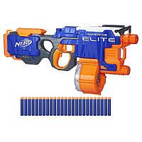Детский бластер детское оружие детский пистолет Элит Гиперфаер Nerf N-Strike Elite HyperFire Blaster B5573