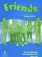 Friends 1 Activity Book. Lesnikowska E., Niedzwiecka K., Date O. Pearson