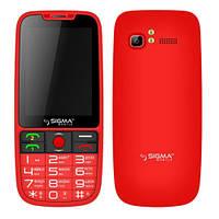 Мобильный телефон Sigma Comfort 50 Elegance Red