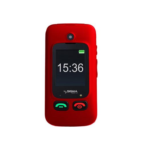 Мобильный телефон Sigma Comfort 50 Shell DUO Red