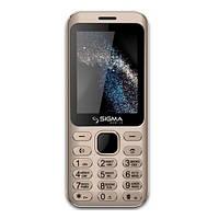 Мобильный телефон Sigma X-Style 33 Steel Gold
