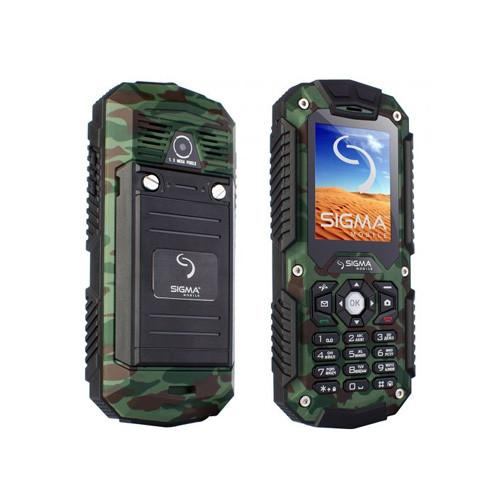 Мобильный телефон Sigma X-treme IT67 Khaki