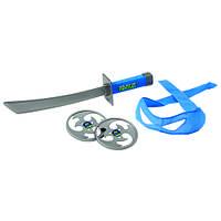 Набор игрушечного оружия серии ЧЕРЕПАШКИ-НИНДЗЯ - боевое снаряжение Леонардо (меч, бандана)