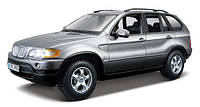 Автомодель - BMW X5 (ассорти красный, серый металлик, 1:24)
