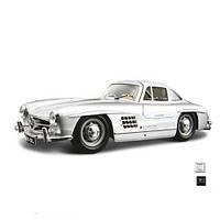 Автомодель - MERCEDES-BENZ 300 SL (1954) (асорті червоний, сріблястий, 1:24)