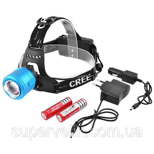 Налобный фонарь Bailong Police BL-2177-Т6 аккумулятор