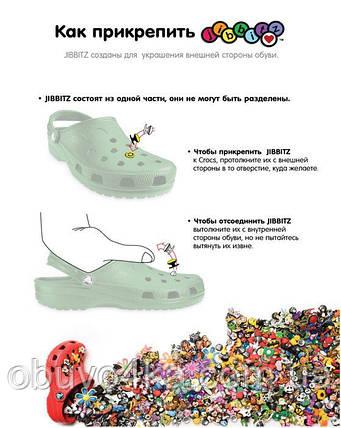 Джибитс 3D (Jibbitz) для CROCS, фото 2