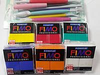 Подарочный набор:Фимо профессионал Fimo Professional 5 шт. (85 г)+инструменты