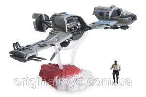Игровой набор Star Wars Последние джедаи Финн и транспортное средство Disney