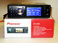 """Добротная автомагнитола Pioneer JD-405 - 3"""" Video экран - Divx/mp4/mp3 - USB флешка+ SD карта Код: КДН3944, фото 1"""