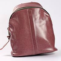 01452ecdda06 Женский кожаный розовый рюкзак в категории рюкзаки городские и ...