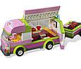 """Конструктор Bela Friends 10168 """"Оливия и домик на колёсах"""" (аналог LEGO Friends 3184), 309 дет, фото 3"""
