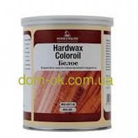 Паркетное масло с повышенной твердостью Hardwax Coloroil белое, прозрачное 1 л белый