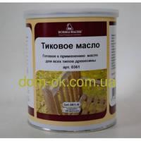 Тиковое масло ST Teak Oil для древесины 1 л