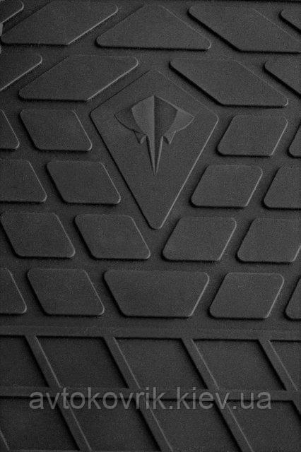Резиновые передние коврики в салон Mercedes GL (X164) 2006-2012 (STINGRAY)
