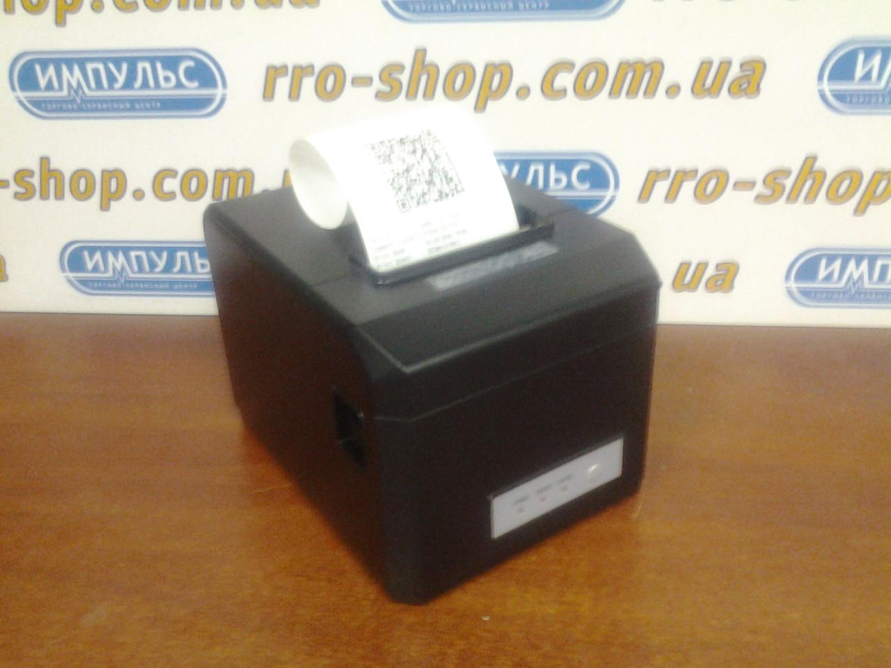 Чековый принтер RTPOS 80 с WiFi (USB, Ethernet, WiFi, автообрезка чека)