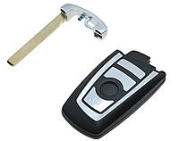 Корпус смарт ключа для BMW (БМВ) 4 - кнопки, F Series  лезвие HU92
