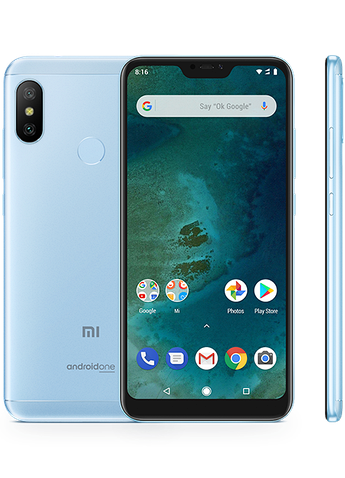 Смартфон Xiaomi Mi A2 4/64GB Blue Global Version