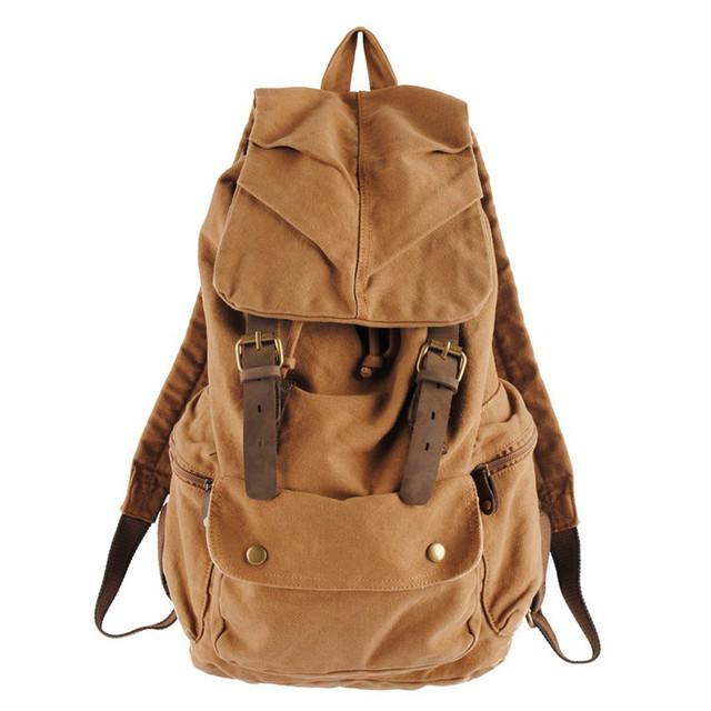 Мужской рюкзак Canvas коричневый