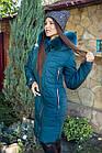 Теплое женское пальто сезона зима 2019 - (модель кт-317), фото 9