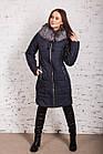 Теплое женское пальто сезона зима 2019 - (модель кт-317), фото 2