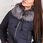 Теплое женское пальто сезона зима 2019 - (модель кт-317), фото 3