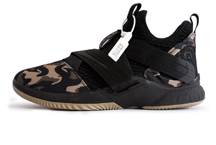 save off ceae3 16674 Мужские Баскетбольные кроссовки Nike Lebron James XII Camo (Реплика ААА+)