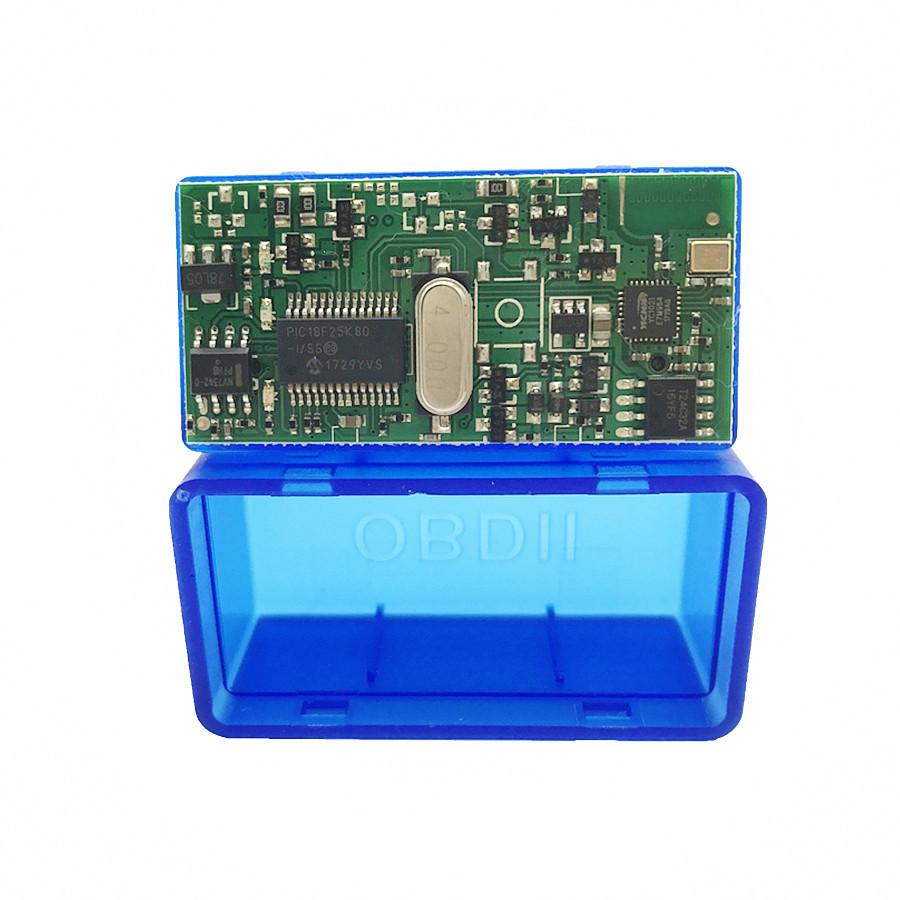 UltraМini ELM327 OBD-2 V1/5 сканер блютуз мини адаптер 1 плата PIC18F2 3