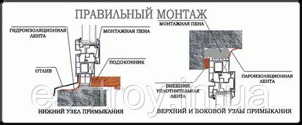 Лента для монтажа окон LT/DM 100 U (рулон 12 м.п), фото 2