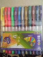 Набір з 12-ти гелевих ручок NEON+METALLIC, 12 кольорів