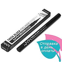 Підводка для повік NYX Thik black eyeliner