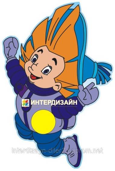Крепление для рисунка Космонавт